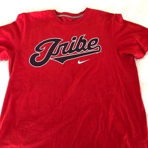 Nike Cleveland Indians Chief Wahoo shirt